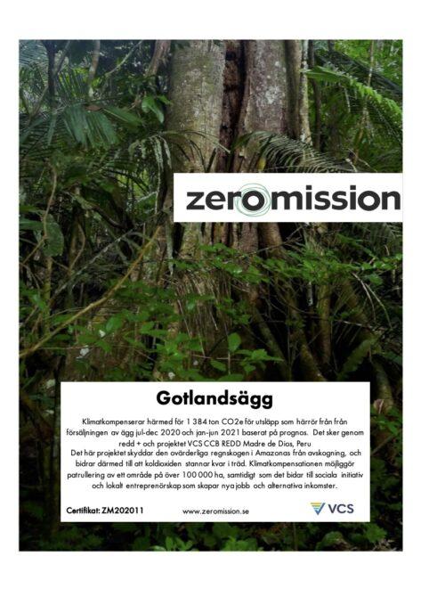 ZeroMision Cert 202011