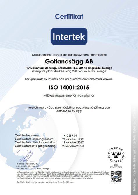 ISO 14001 sv