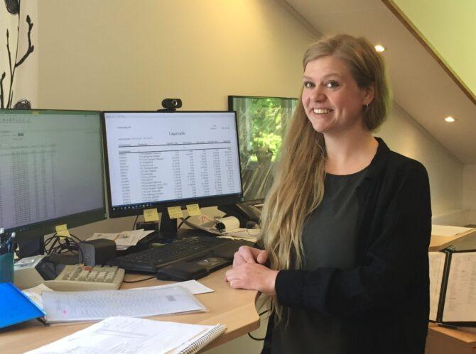 Anna Axelsson ekonomicontroller Gotlandsägg