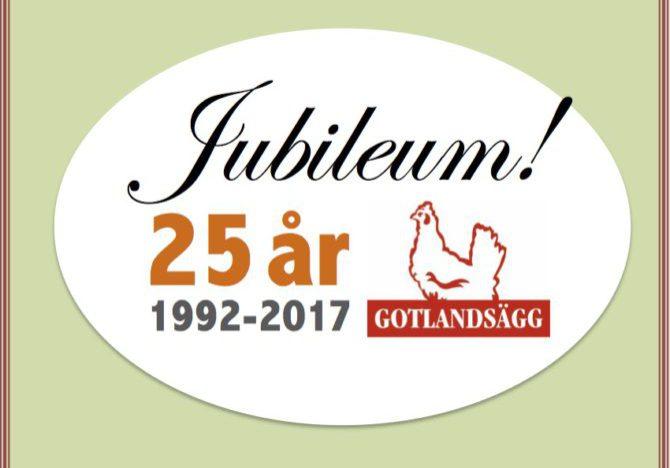 Gotlandsägg jubileum