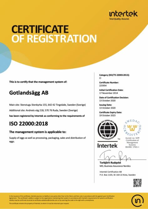 ISO 22000 eng